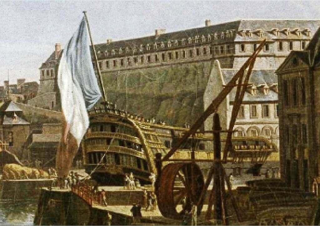 Le port de Brest - Jean-François Hué 1024co10