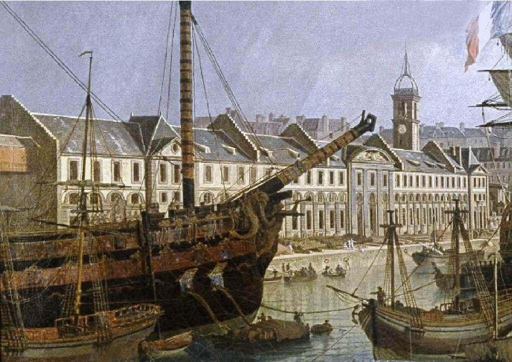 Le port de Brest - Jean-François Hué 1024co11