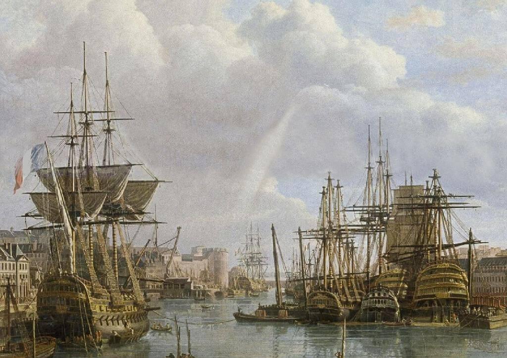 Le port de Brest - Jean-François Hué 1024co12