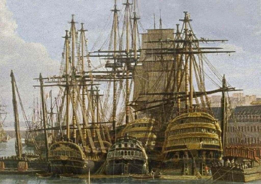 Le port de Brest - Jean-François Hué 1024co14