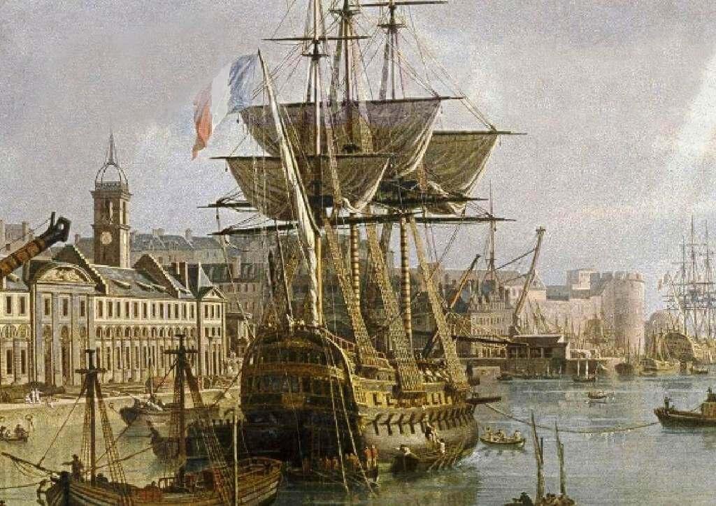 Le port de Brest - Jean-François Hué 1024co15