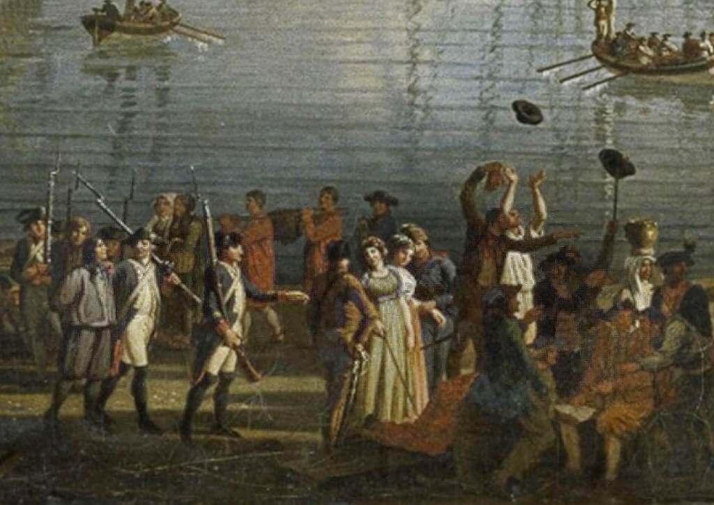 Le port de Brest - Jean-François Hué 1024co16
