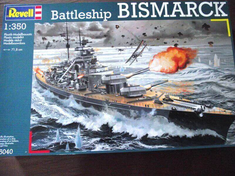 Bismarck Revell 1/350 Bic00110