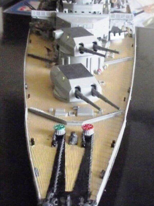 Bismarck Revell 1/350 Bic00210