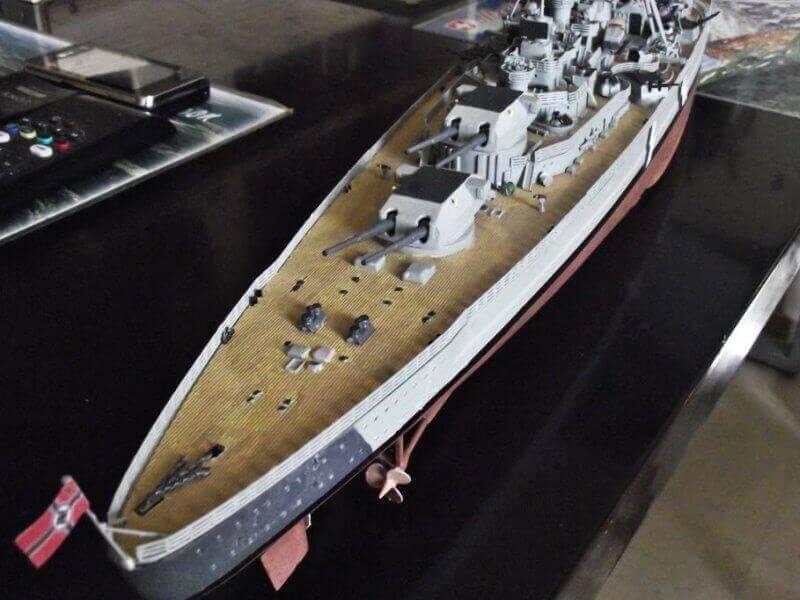 Bismarck Revell 1/350 Bic00310