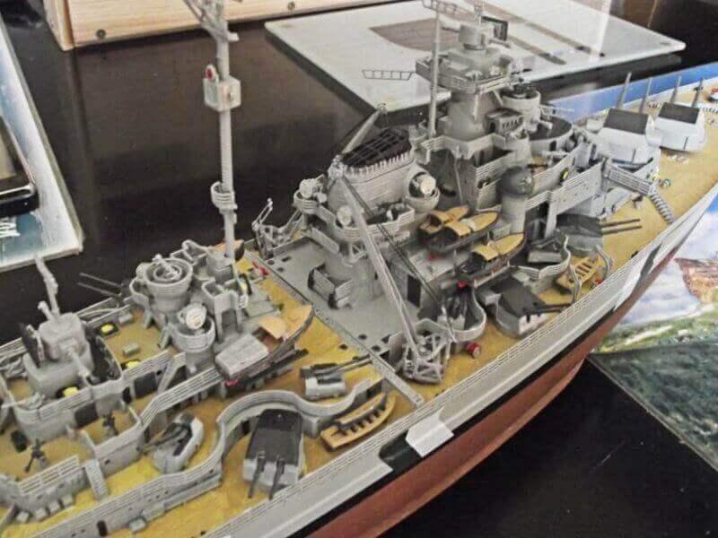 Bismarck Revell 1/350 Bic00410