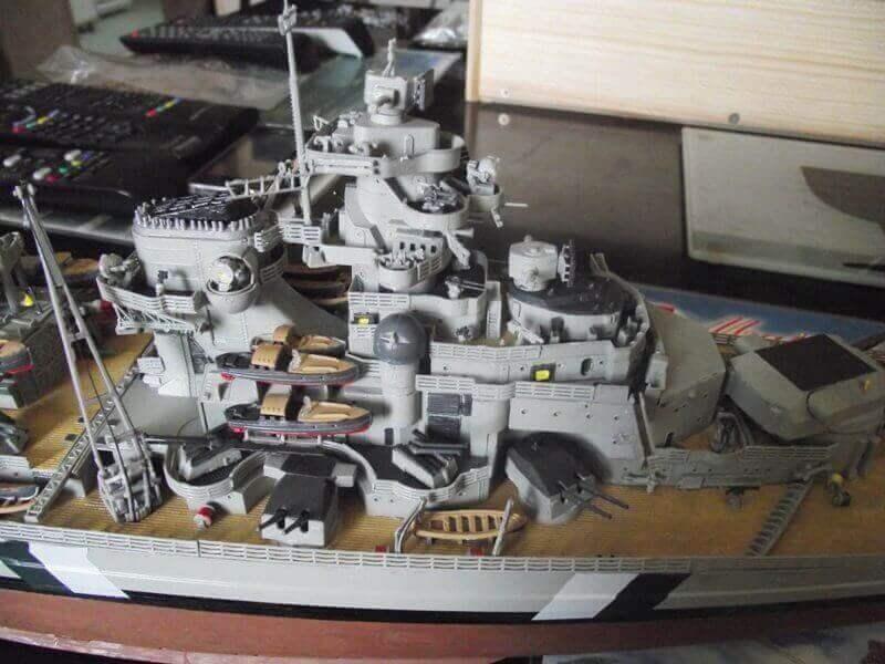 Bismarck Revell 1/350 Bic00510