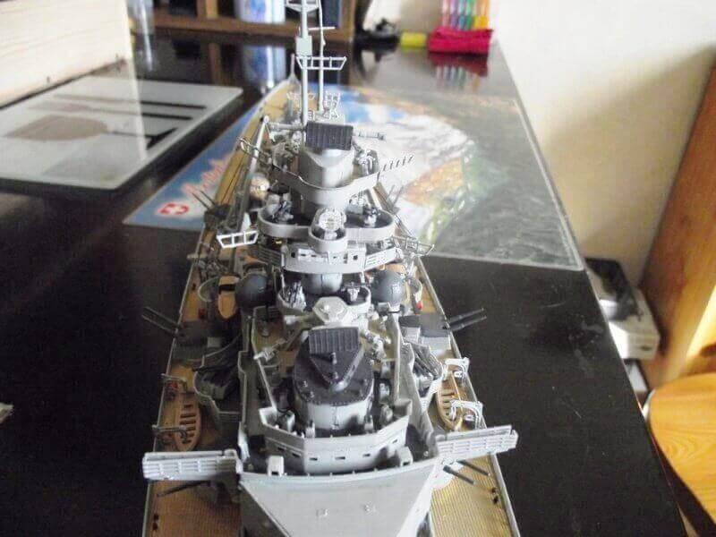 Bismarck Revell 1/350 Bic00710