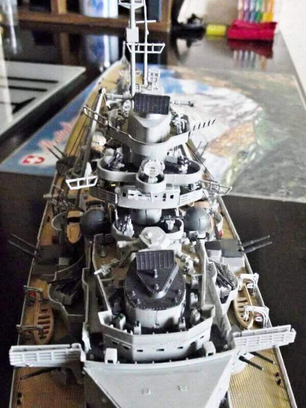 Bismarck Revell 1/350 Bic00810