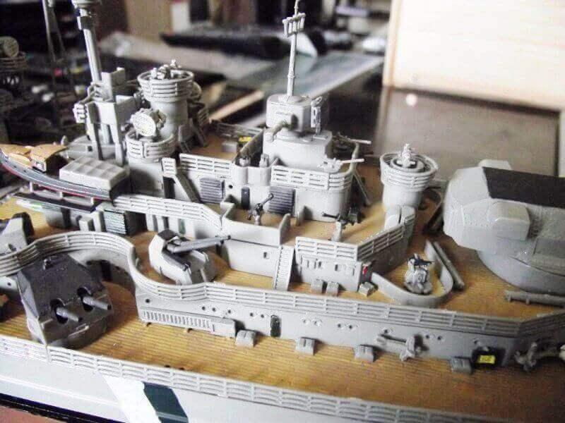 Bismarck Revell 1/350 Bic00910