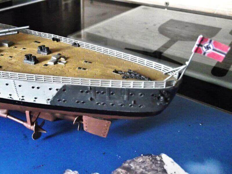 Bismarck Revell 1/350 Bic01010