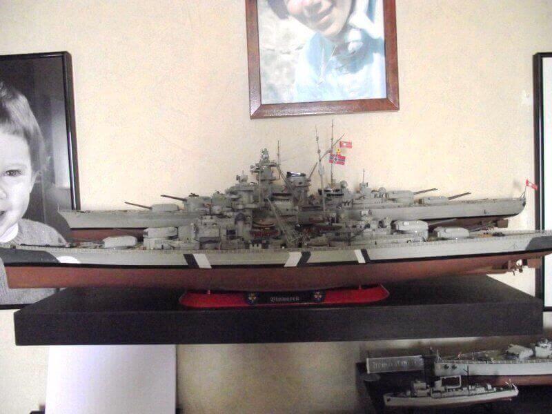 Bismarck Revell 1/350 Bic01210