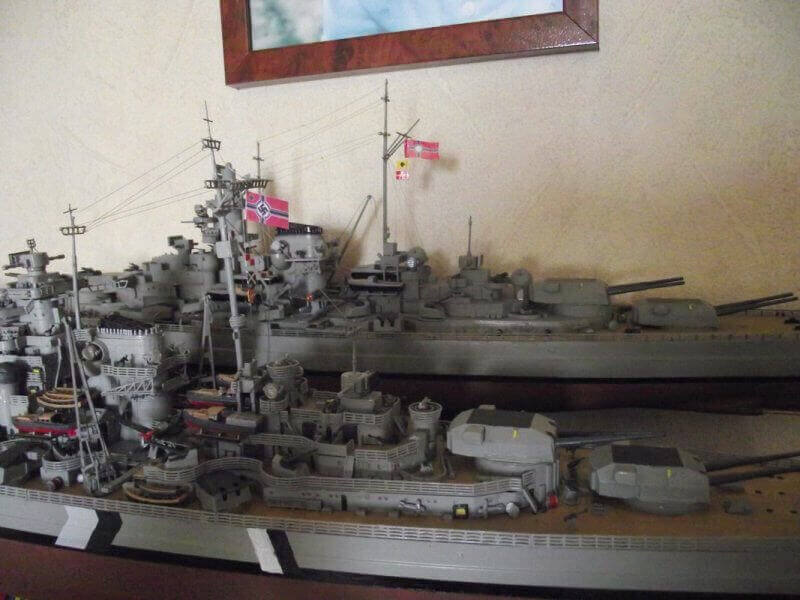 Bismarck Revell 1/350 Bic01310