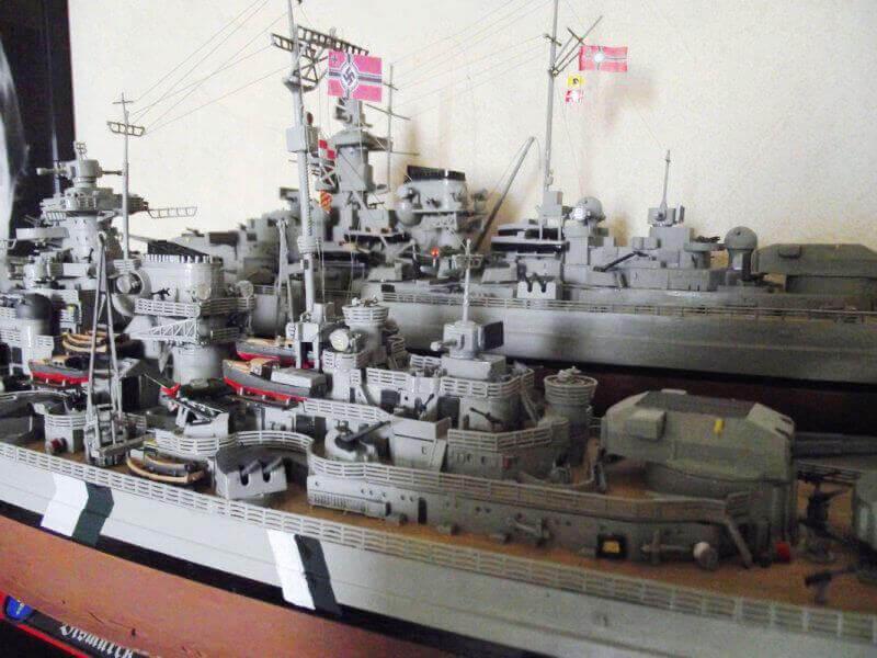 Bismarck Revell 1/350 Bic01410
