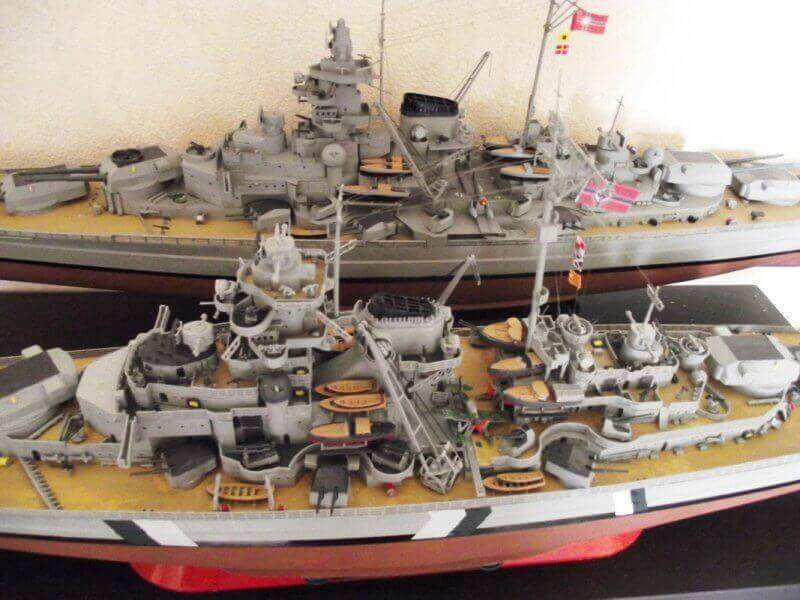 Bismarck Revell 1/350 Bic01710