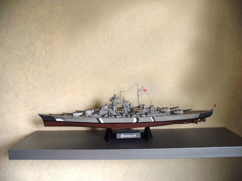Bismarck Tamiya 1/350 Bis20010