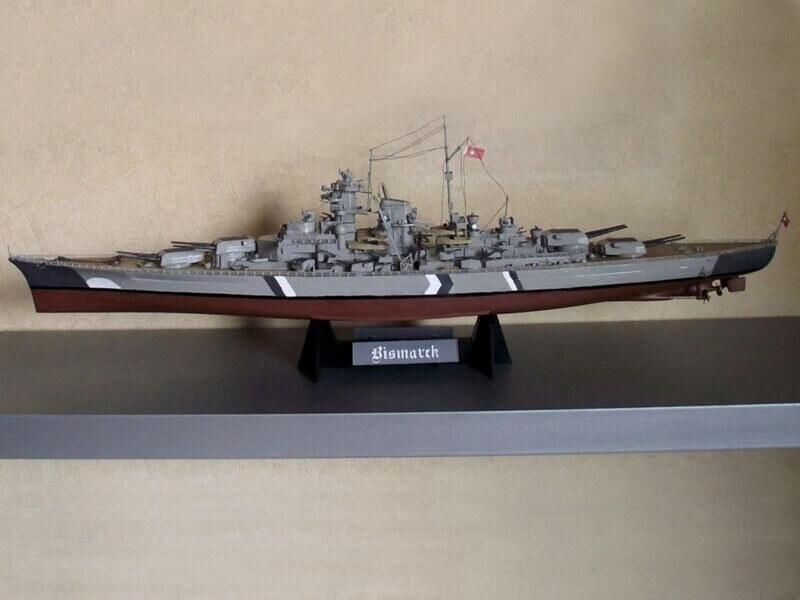 Bismarck Tamiya 1/350 Bis20011