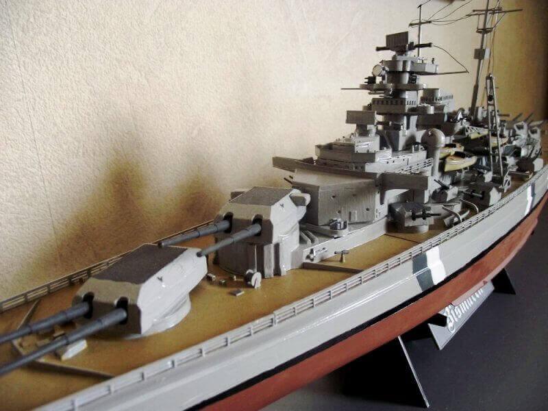Bismarck Tamiya 1/350 Bis20012