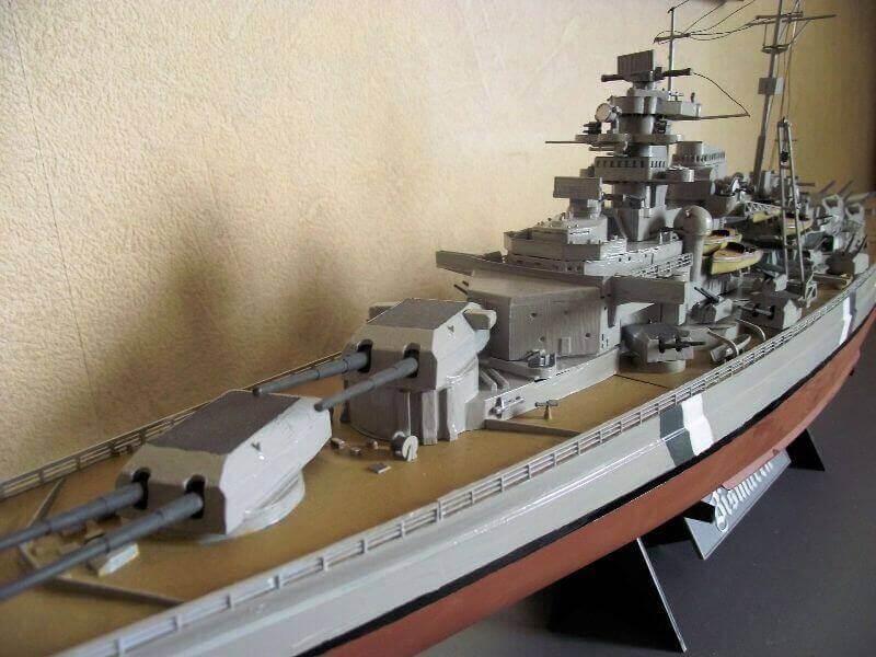 Bismarck Tamiya 1/350 Bis20013