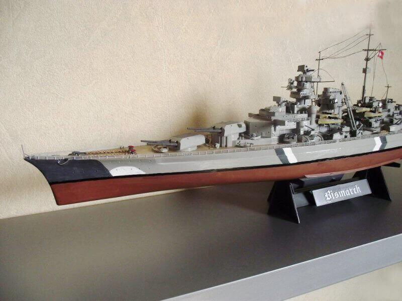 Bismarck Tamiya 1/350 Bis20014