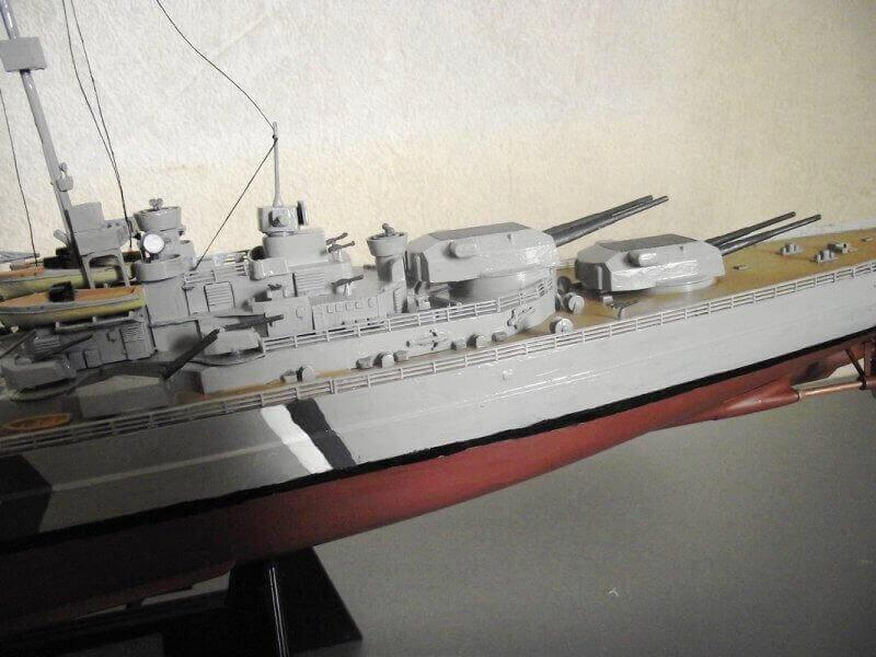 Bismarck Tamiya 1/350 Bis20015