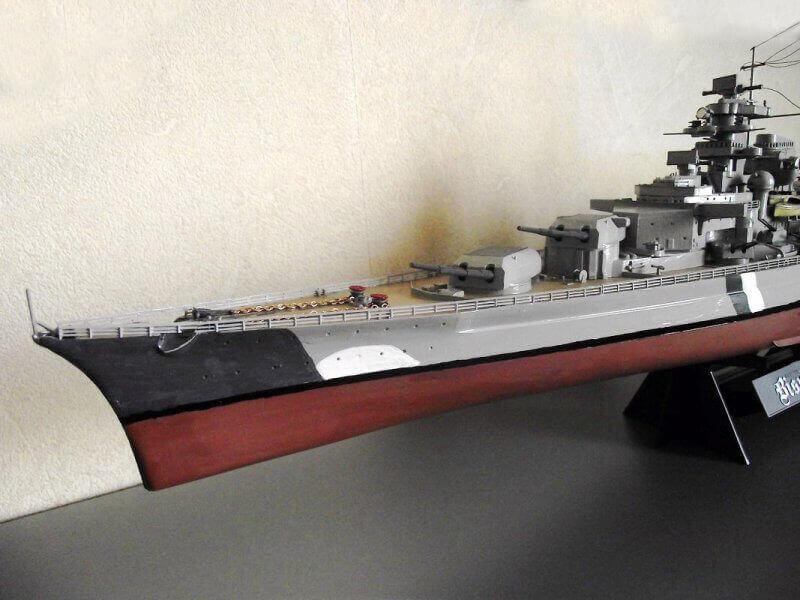 Bismarck Tamiya 1/350 Bis20016