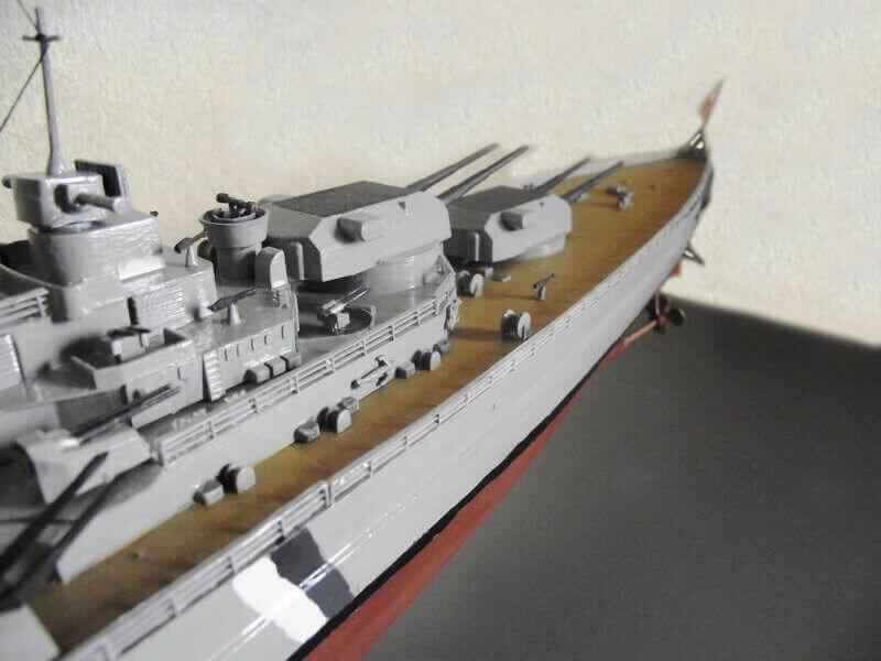 Bismarck Tamiya 1/350 Bis20017