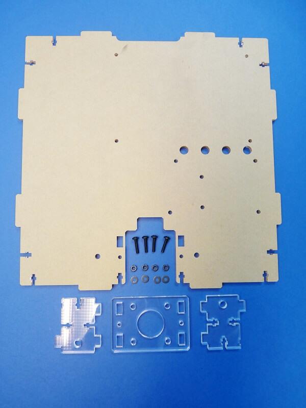 Construction d'une imprimante 3D multi-matériaux.  C2bc10