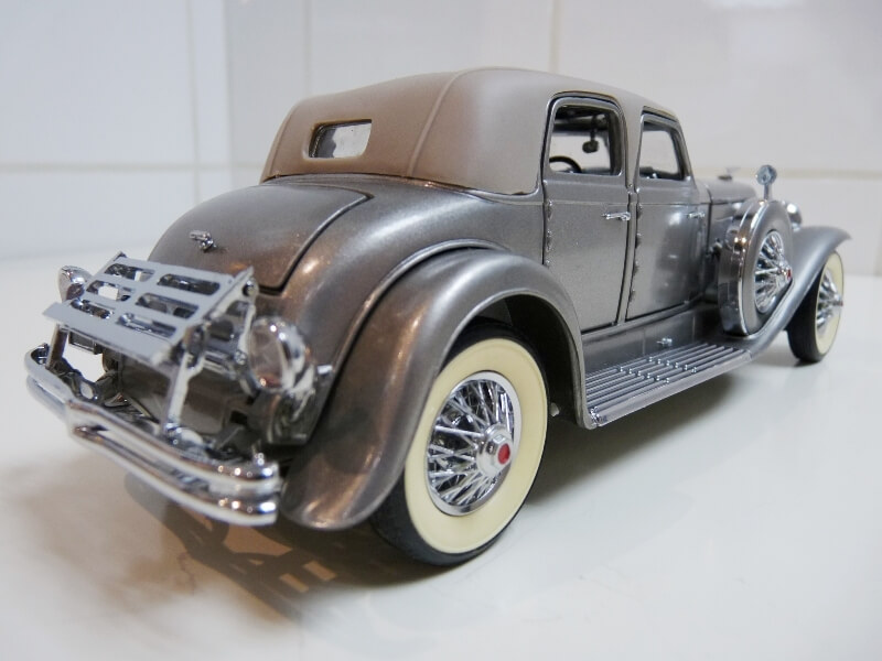 Duesenberg SJ Twenty Grand - 1933 - Franklin Mint 1/18 ème Dusjt_22