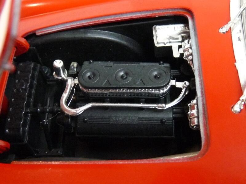 Ferrari 250 GT SWB California Spyder - 1961 - Tonka Polistil 1/16 ème F250gt24
