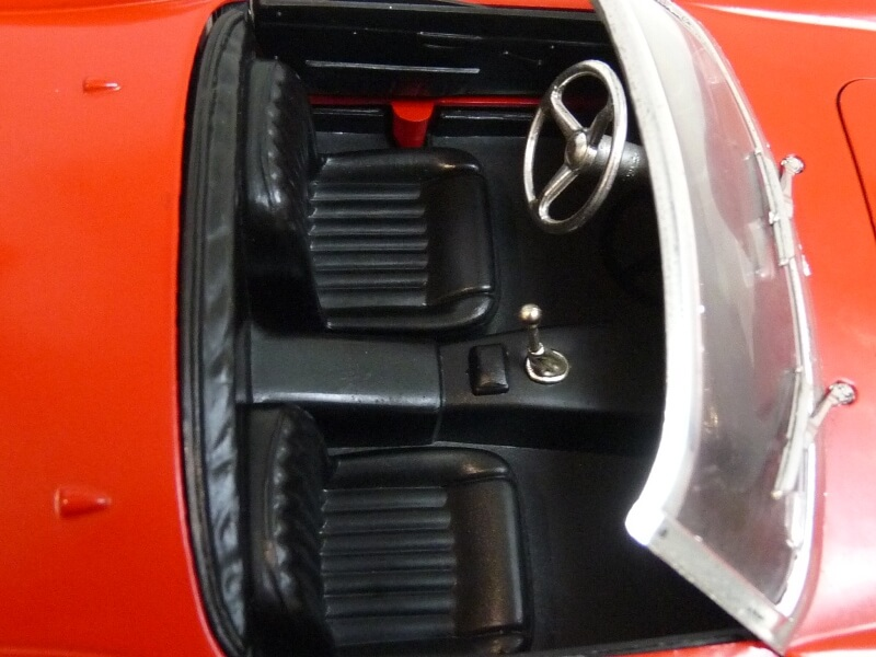 Ferrari 250 GT SWB California Spyder - 1961 - Tonka Polistil 1/16 ème F250gt27