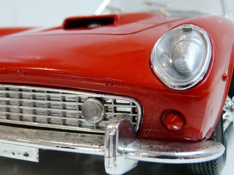 Ferrari 250 GT SWB California Spyder - 1961 - Tonka Polistil 1/16 ème F250gt28