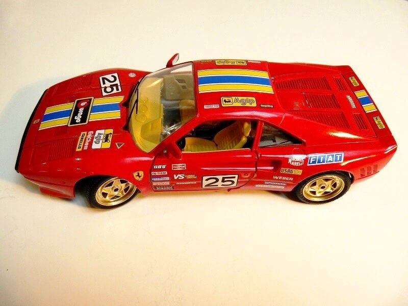 Ferrari 288 GTO Rallye - 1986 - BBurago 1/18 ème F288_g20