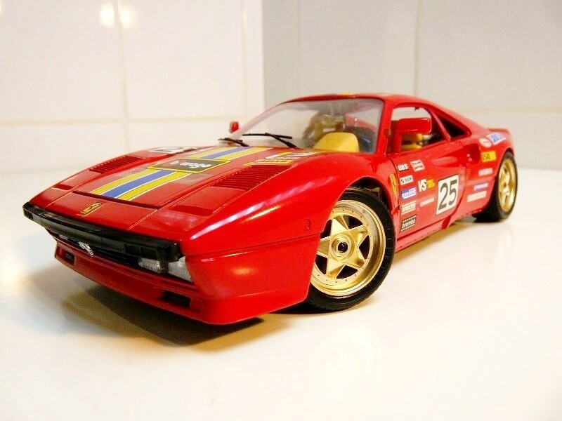 Ferrari 288 GTO Rallye - 1986 - BBurago 1/18 ème F288_g21