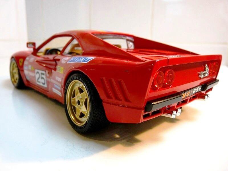 Ferrari 288 GTO Rallye - 1986 - BBurago 1/18 ème F288_g24