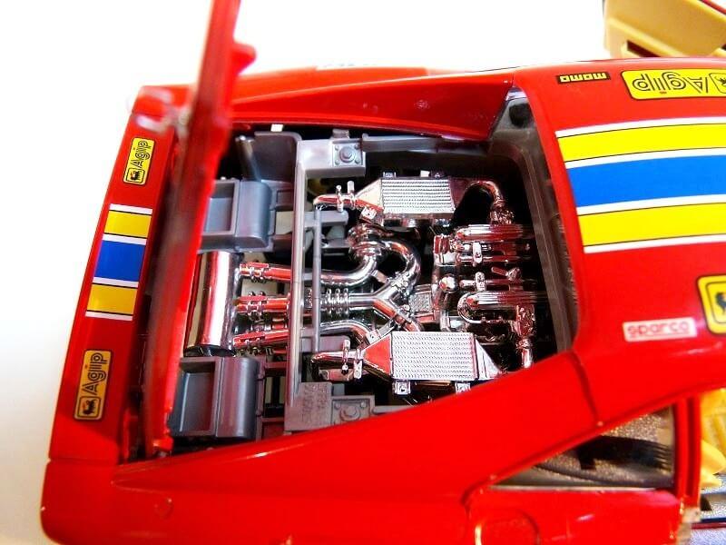 Ferrari 288 GTO Rallye - 1986 - BBurago 1/18 ème F288_g26