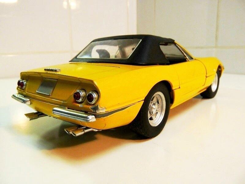 Ferrari 365 Daytona GTS4 Cabriolet Spider - 1971 - Solido 1/18 ème F365_g14