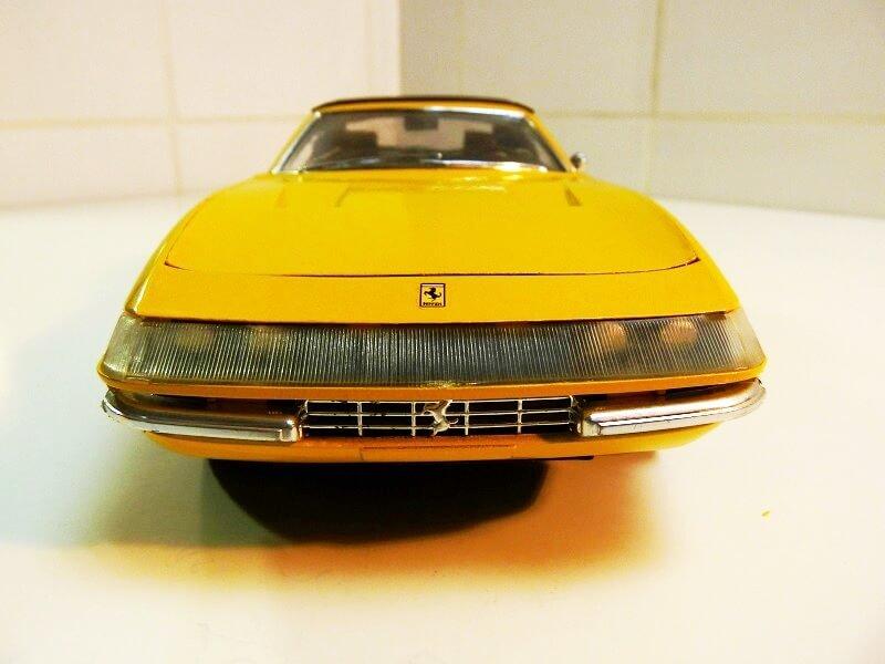 Ferrari 365 Daytona GTS4 Cabriolet Spider - 1971 - Solido 1/18 ème F365_g15