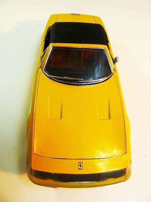 Ferrari 365 Daytona GTS4 Cabriolet Spider - 1971 - Solido 1/18 ème F365_g16