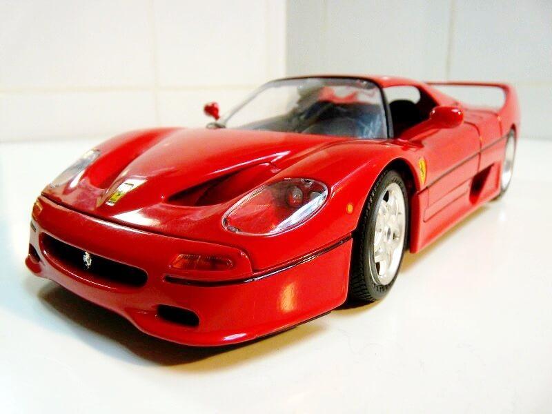 Ferrari F50 Hardtop - 1995 - BBurago 1/18 ème F50h_110