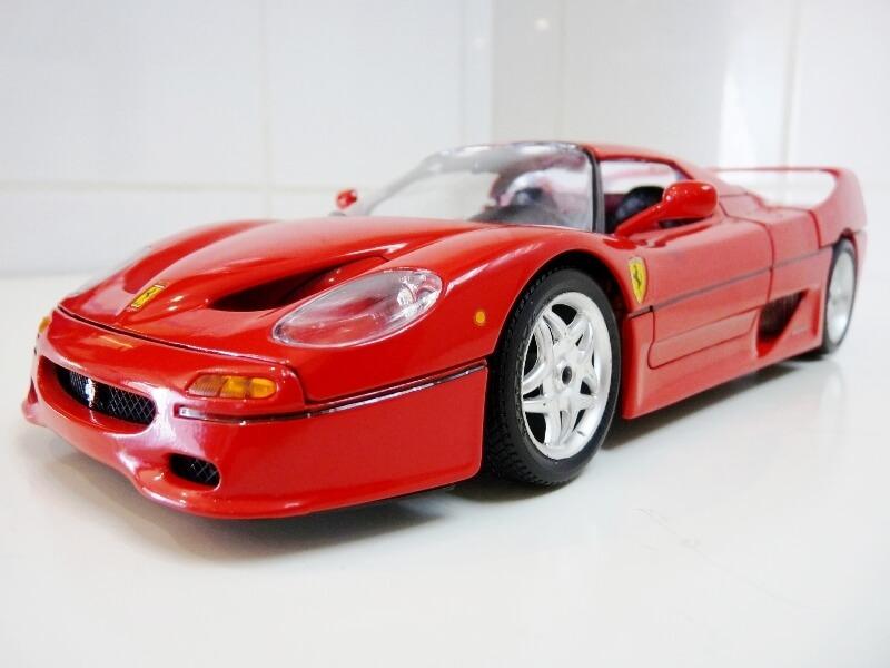 Ferrari F50 Hardtop - 1995 - BBurago 1/18 ème F50h_112
