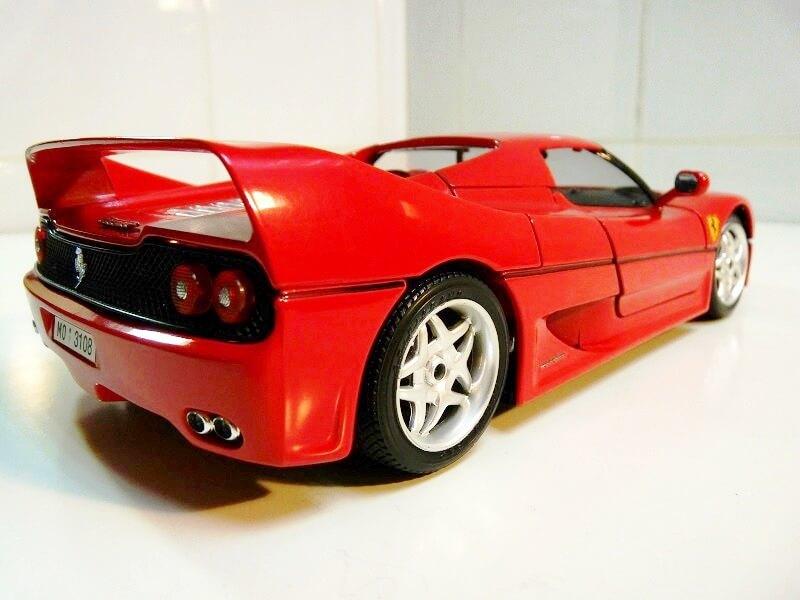 Ferrari F50 Hardtop - 1995 - BBurago 1/18 ème F50h_122