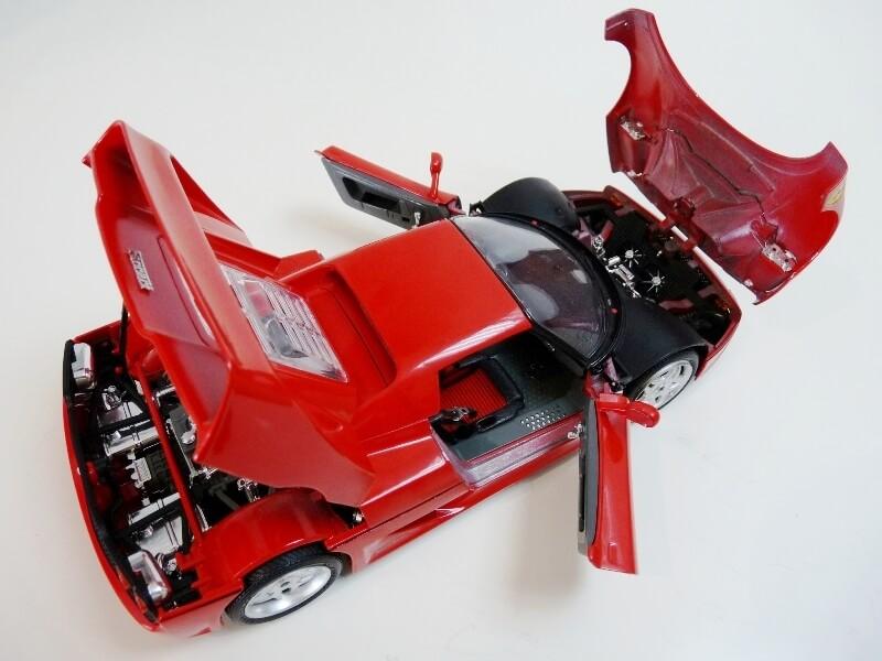 Ferrari F50 Hardtop - 1995 - BBurago 1/18 ème F50h_127