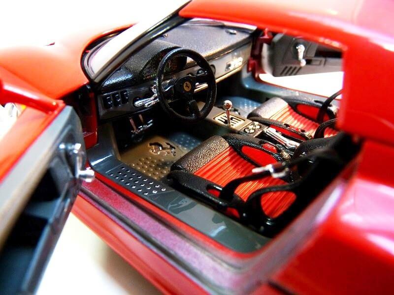 Ferrari F50 Hardtop - 1995 - BBurago 1/18 ème F50h_130