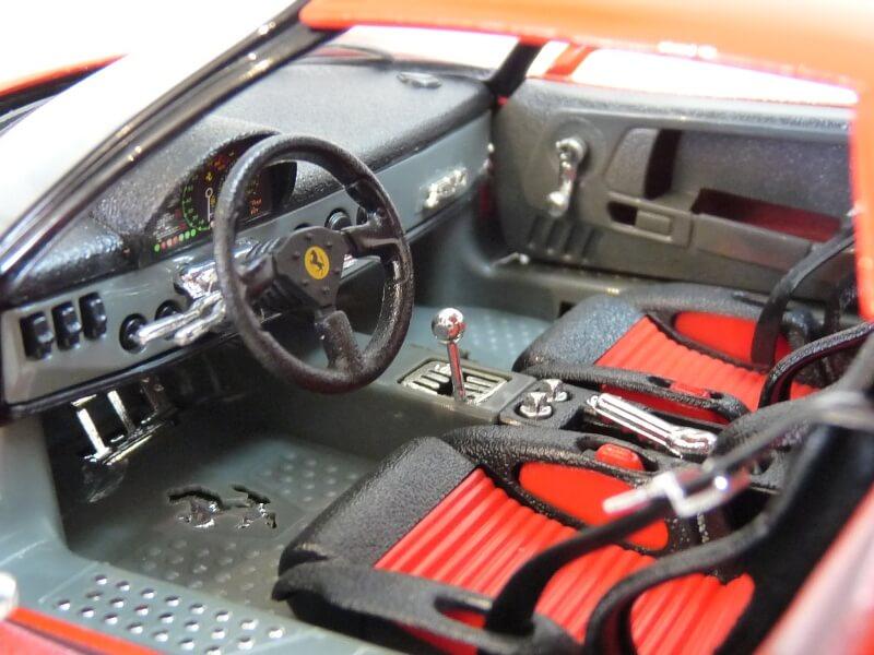 Ferrari F50 Hardtop - 1995 - BBurago 1/18 ème F50h_131