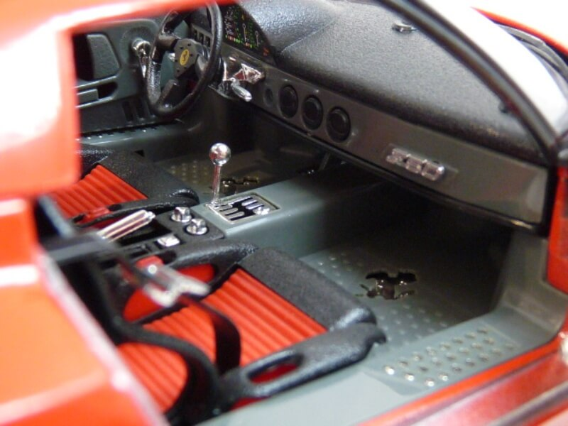 Ferrari F50 Hardtop - 1995 - BBurago 1/18 ème F50h_136