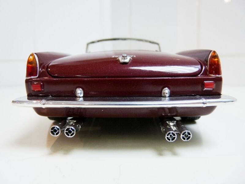 Ferrari 250 GT California Spyder SWB - 1961 - HotWheels 1/18 ème Fe250g14