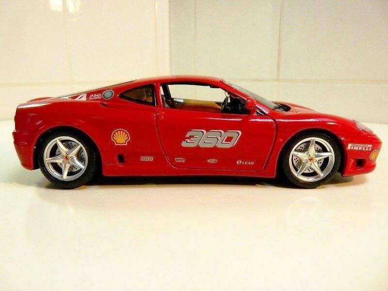 Ferrari 360 Modena Challenge - 1999 - Bburago 1/18 ème Fer36010
