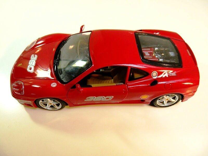 Ferrari 360 Modena Challenge - 1999 - Bburago 1/18 ème Fer36011