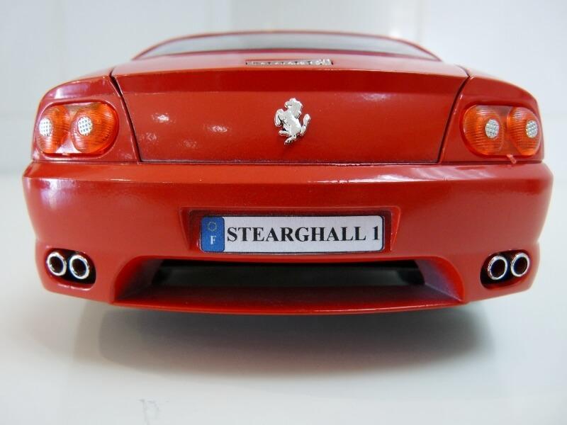 Ferrari 456 GT - 1992 - BBurago 1/18 ème Ferra106